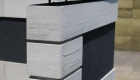 愛知県岡崎市の新築エクステリア;こだわりの門柱のある和モダン外構