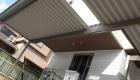 愛知県岡崎市の新築エクステリア;使い勝手の良いシンプルなセッパンカーポートのナチュラルモダン外構