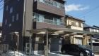 愛知県岡崎市の新築エクステリア;機能性とバリアフリーを意識したスタイリッシュなモダン外構