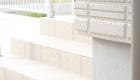 愛知県岡崎市の新築エクステリア;落ち着いた色合いのパンがあるナチュラルモダン外構