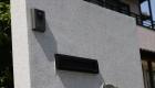 愛知県岡崎市のリフォーム外構;景観を損なわないデザインで門柱をリフォーム
