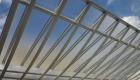 愛知県岡崎市のリフォーム外構;屋根の曲線がかっこいい!デザイン性の高いカーポート