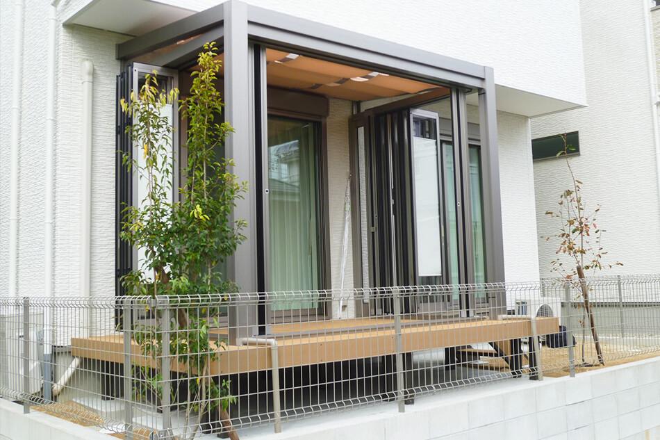 テラス屋根ガーデンルーム愛知県岡崎市