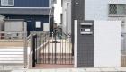 愛知県蒲郡市の新築エクステリア;お客様のこだわりが詰まった門扉・門柱
