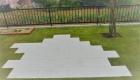 愛知県岡崎市の新築エクステリア;家族みんなで楽しくバーベキューできるお庭