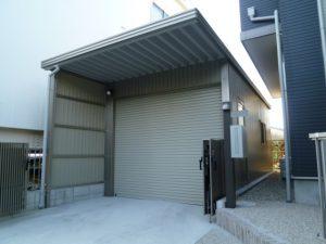 岡崎市エクステリア外構大切なお車守ります!安心強度のセッパンガレージ