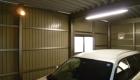 愛知県岡崎市のリフォーム外構;大切なお車守ります!安心強度のセッパンガレージ