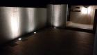 愛知県岡崎市の新築エクステリア;ライトアップされた美しいアプローチ